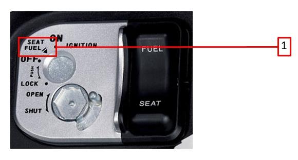 เปิดฝาถังน้ำมัน ฮอนด้า รุ่นแอร์เบรค (HONDA AirBlade)